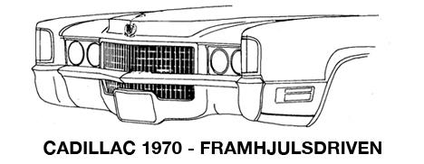 1970 Framhjulsdriven Eldorado