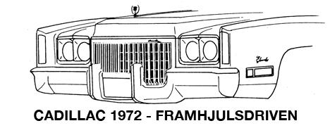 1972 Framhjulsdriven Eldorado