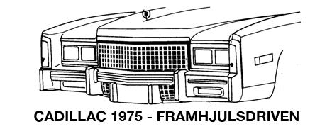 1975 Framhjulsdriven Eldorado